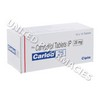 Carloc (Carvedilol) - 25mg (10 Tablets)