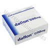 Daflon (Rutaceae) - 500mg (10 Tablets)