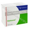 Ketorol 10 (ketorolac) 10mg (10 tablets)