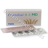 Prandial 0.3 MD (Voglibose) - 0.3mg (10 Tablets)
