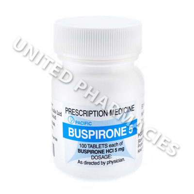 Buspirone (Buspirone Hydrochloride) - 5mg (100 Tablets) - United