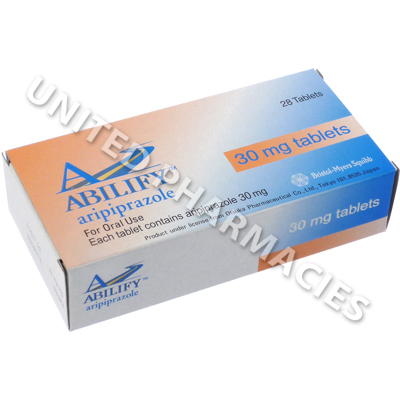 Abilify (Aripiprazole) - 30mg (28 Tablets)