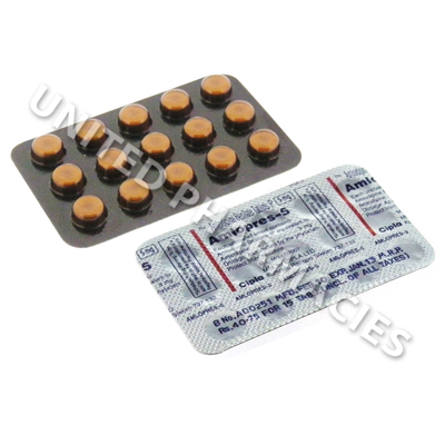 Amlopres (Amlodipine Besilate) - 5mg (15 Tablets)
