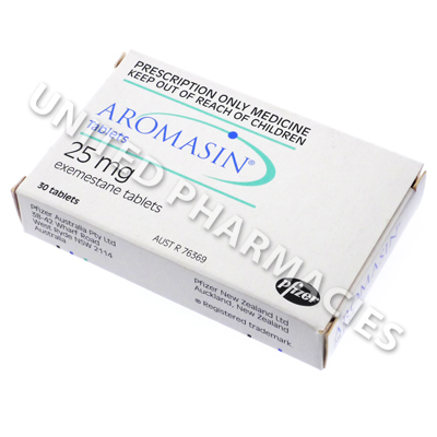 Aromasin (Exemestane) - 25mg (30 Tablets)