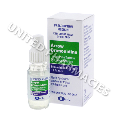 Arrow-Brimonidine (Brimonidine Tartrate) Eye Drops Solution - 0.2% (5mL)