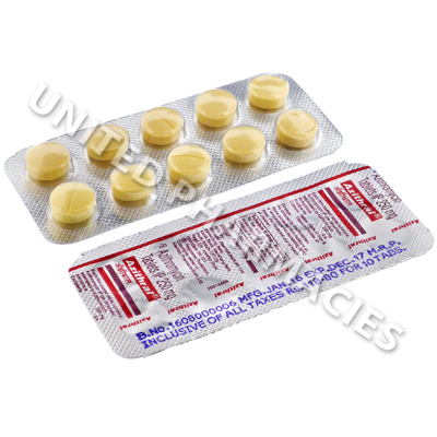 Azithral (Azithromycin) - 250mg (10 Tablets)