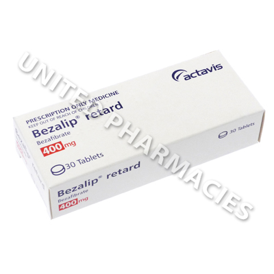 Bezalip retard (Bezafibrate) - 400mg (30 Tablets)