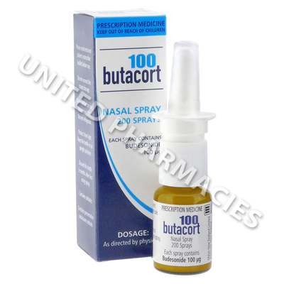 Butacort 100 Nasal Spray (Budesonide) - 100mcg (10mL)