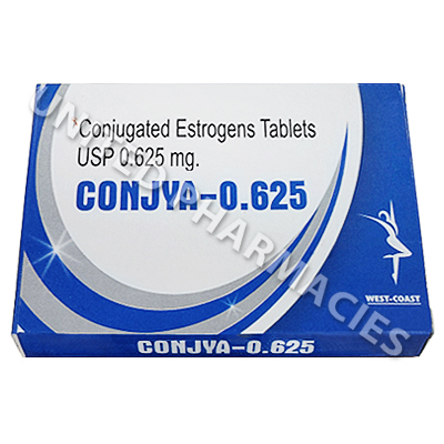 CONJYA-0.625 (Conjugated Estrogens) - 0.625mg (28 Tablets)