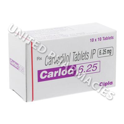 Carloc 3.125 mg ml