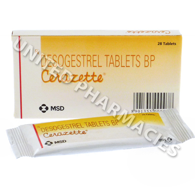 Cerazette (Desogestrel) - 0.075mg (28 Tablets)