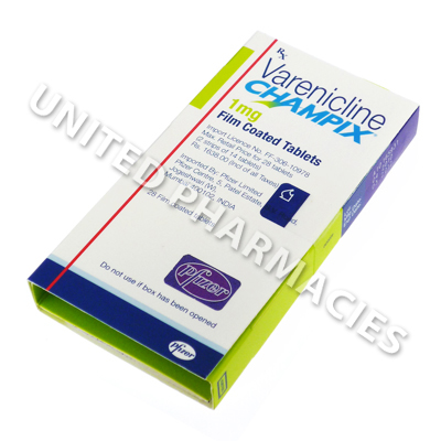 Champix Varenicline 1mg 28 Tablets India United Pharmacies