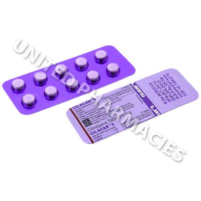 Cilacar 5 (Cilnidipine) - 5mg (10 Tablets)