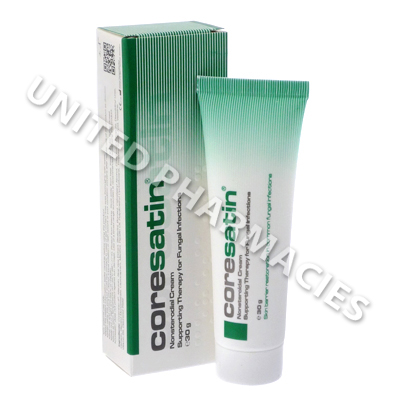 Coresatin Nonsteroidal Cream (Supporting Therapy For Common Fungal Infections) - 30g