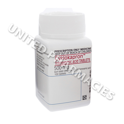 Cyklokapron (Tranexamic Acid) - 500mg (100 Tablets)