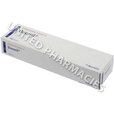 Daonil (Glibenclamide IP) - 5mg (10 Tablets)