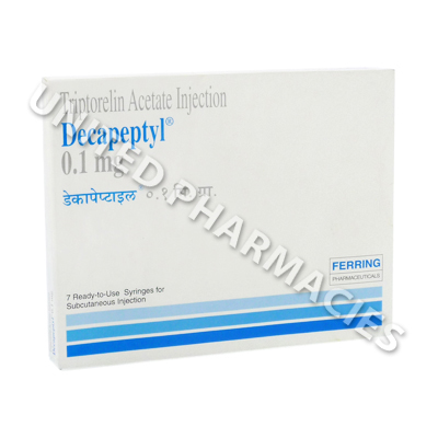Decapeptyl (Triptorelin) - 0.1mg (7 Ampolue)