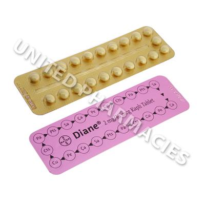 Diane 35 Cyproterone Acetateethinyl Estradiol 2mg0035mg 21