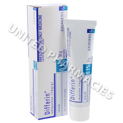Differin Cream (Adapalene) - 0.1% (30gm Tube) :: Skin
