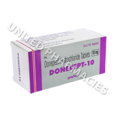 Donecept (Donepezil) - 10mg (10 Tablets)