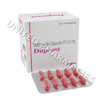 Duprost Dutasteride 0 5mg 10 Capsules United Pharmacies Uk