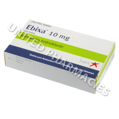 Ebixa (Memantine) -10mg (100 Tablets)