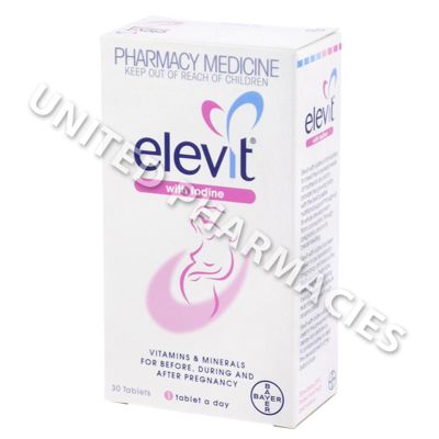 Elevit Multi with Iodine (Vitamins and Minerals with Iodine)(30 Tablets)