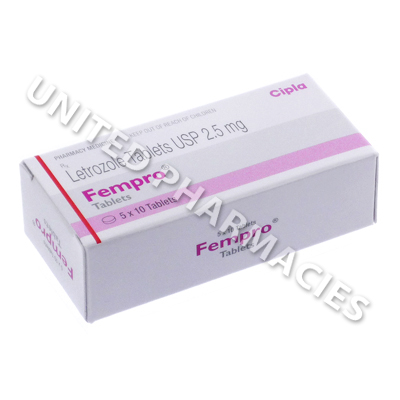 Fempro (Letrozole) - 2.5mg (10 Tablets)