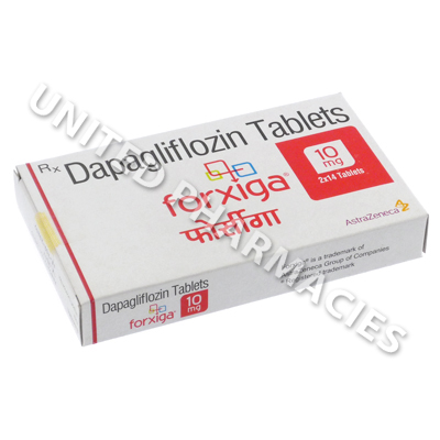 Forxiga (Dapagliflozin) - 10mg (28 Tablets) - United