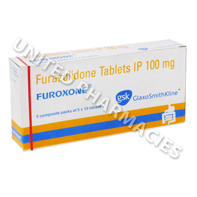 Furoxone (Furazolidone) - 100mg (10 Tablets)