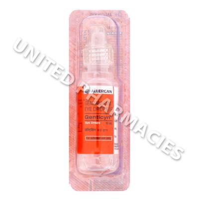 Genticyn Eye Drop Gentamicin 03wv 10ml United Pharmacies Uk
