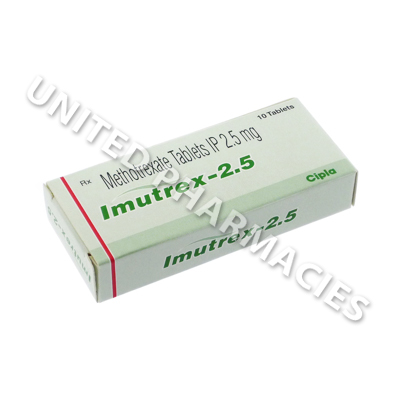 Imutrex (Methotrexate) - 2.5mg (10 Tablets)