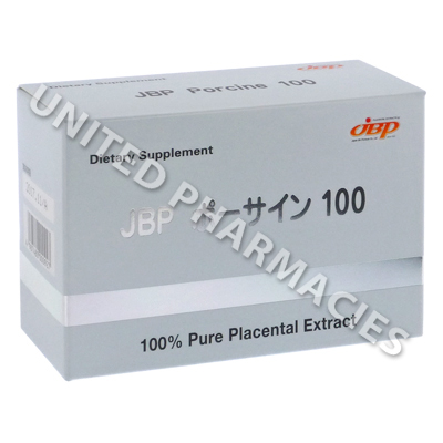 JBP Porcine 100 (Placental Extract) - 10 Tablets