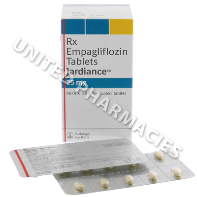 Jardiance (Empagliflozin) - 25mg (10 Tablets)