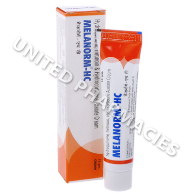 Melanorm-HC Cream (Hydroquinone Acetate/Tretinoin) - 2