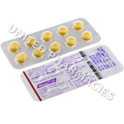 Mirtaz (Mirtazapine) - 15mg (10 Tablets) - United Pharmacies