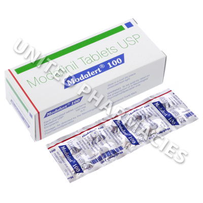 Modalert Modafinil 100mg 10 Tablets United Pharmacies Uk