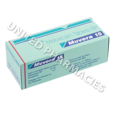 Muvera (Meloxicam) - 15mg (10 Tablets)