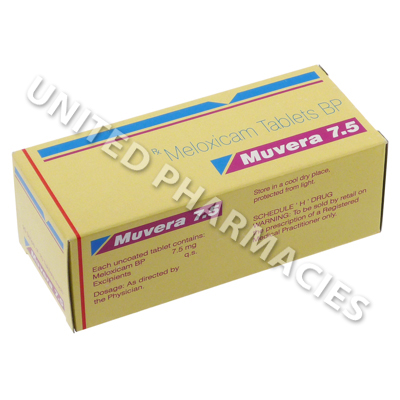 Muvera (Meloxicam) - 7.5mg (10 Tablets)