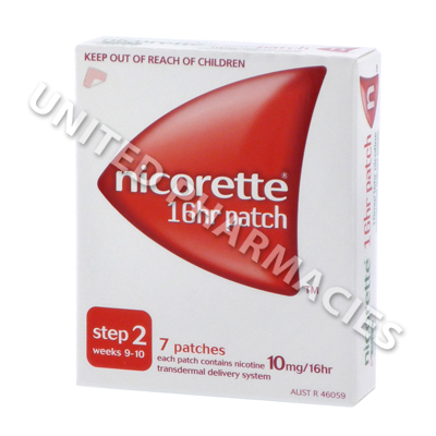Nicorette (Nicotine) - 10mg (7 Patch)