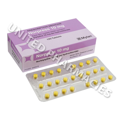 Norpress (Nortriptyline) - 10mg (100 Tablets)
