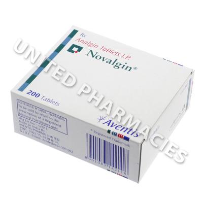 Novalgin (Analgin) - 500mg (10 Tablet)