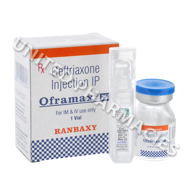 Oframax Injection (Ceftriaxone) - 250mg (1 Vial)