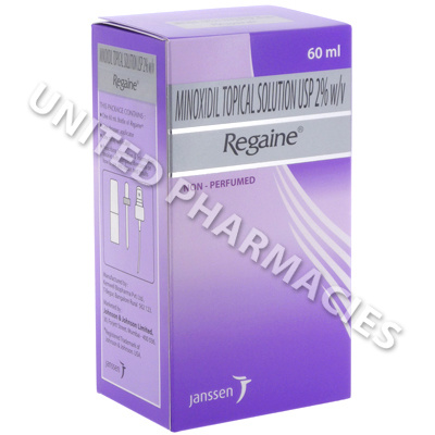 Regaine (Minoxidil) - 2% (60mL Bottle)