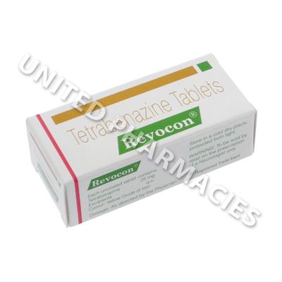 Revocon (Tetrabenazine) - 25mg (10 Tablets) - United