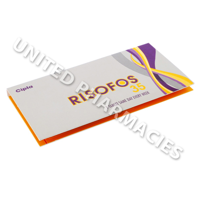 Risofos (Risedronate) - 35mg (4 Tablets)