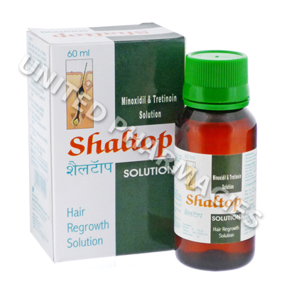Shaltop Solution (Minoxidil/Tretinoin) - 3%/0.025% (60mL)