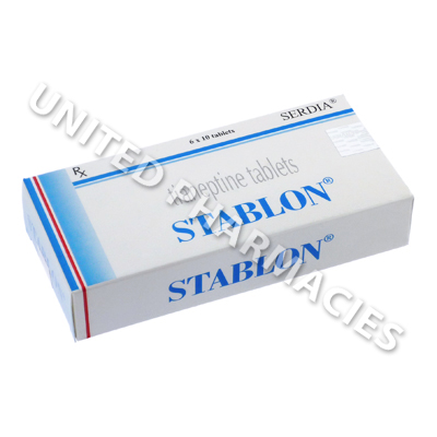Stablon (Tianeptine) - 12 5mg (10 Tablets) - United Pharmacies (UK)