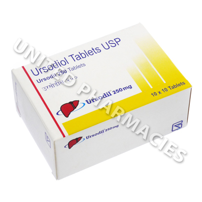 Ursodil (Ursodiol) - 250mg (100 Tablets)