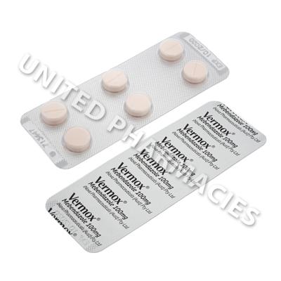 Cheap Vermox 100 mg Tablets
